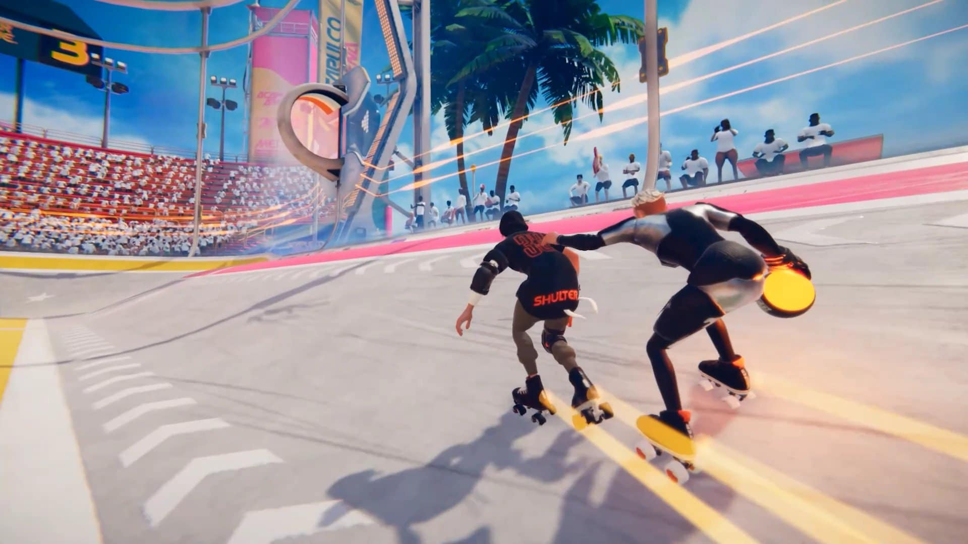 Roller Champions: Nuevo gameplay oficial de la beta cerrada