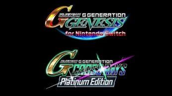 SD Gundam G Generation Genesis y SD Gundam G Generation Cross Rays Platinum Edition se lanzarán para Switch el 25 de marzo en Asia