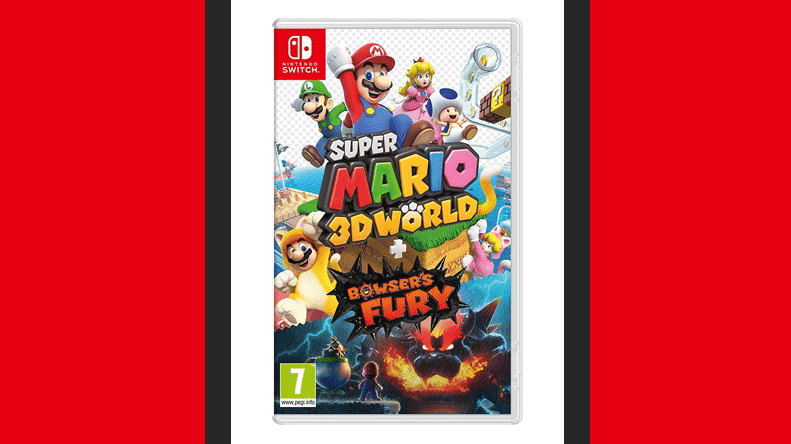 Boxart definitivo de Super Mario 3D World + Bowser's Fury y comparativa con el anterior