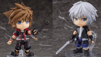 GoodSmile anuncia estas figuras Nendoroids de Sora y Riku de Kingdom Hearts