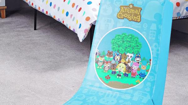 Ya disponible esta silla de Animal Crossing en colaboración con X Rocker