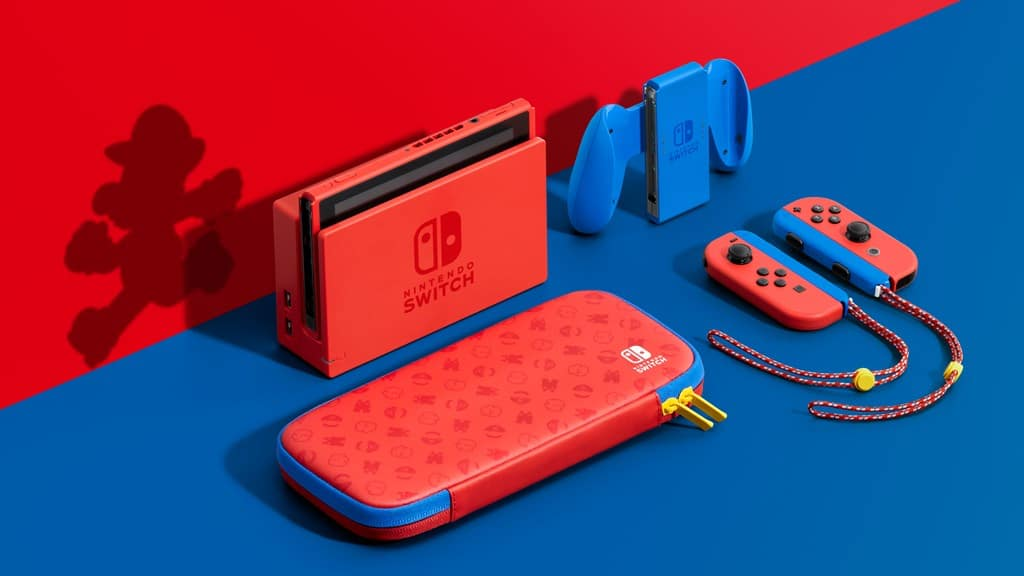 Anunciado el nuevo modelo de Nintendo Switch Mario Red & Blue Edition