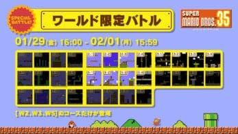 Super Mario Bros. 35 confirma una nueva batalla especial para este viernes