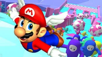 Fall Guys añade un claro easter egg de Super Mario 64