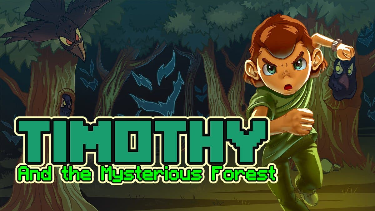 Timothy and the Mysterious Forest llega este viernes a Nintendo Switch
