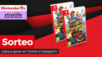 [Act.] ¡Sorteamos otras 2 copias de Super Mario 3D World + Bowser's Fury para Nintendo Switch!