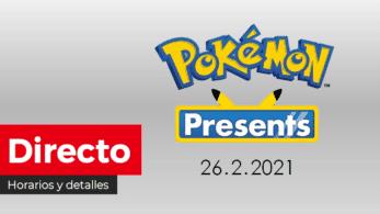 ¡Sigue aquí la nueva presentación Pokémon Presents que se emite en unas horas! Horarios y detalles