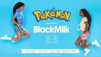 La segunda colección de ropa de BlackMilk en colaboración con Pokémon saldrá a la venta el 2 de marzo