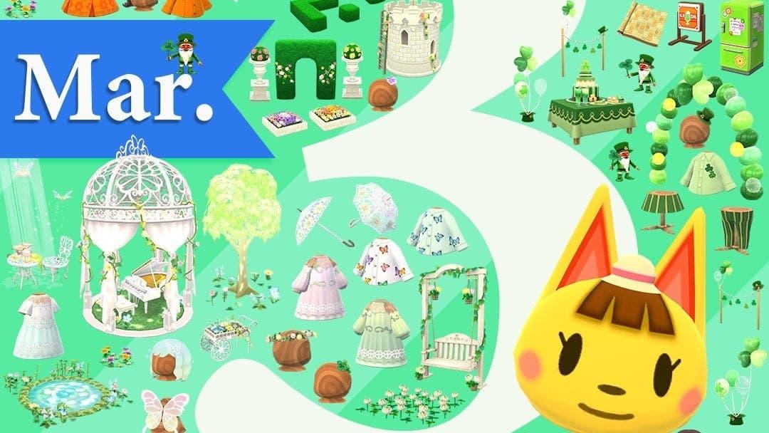 Animal Crossing: Pocket Camp avanza la llegada de novedades en marzo con esta imagen