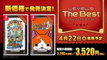Level-5 relanzará Yo-kai Watch 1 y Yo-kai Watch 4: Bokura wa Onaji Sora o Miageteiru a un precio reducido en Japón