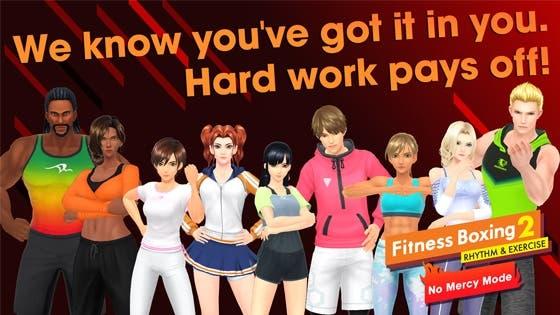 Ya está disponible el DLC «No Mercy» de Fitness Boxing 2: Rhythm & Exercise