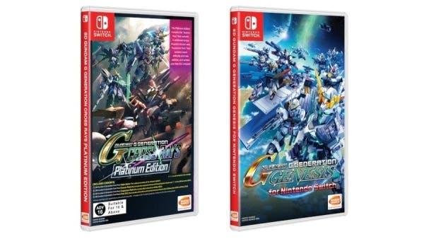 Ya puedes reservar las versiones físicas asiáticas en inglés de SD Gundam G Generation Cross Rays Platinum Edition y Genesis con envío internacional