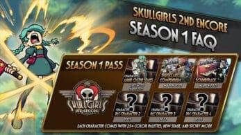 Se anuncia el primer pase de temporada de Skullgirls 2nd Encore