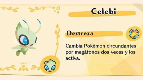 Celebi regresará a Pokémon Café Mix el 24 de febrero