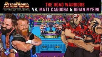 RetroMania Wrestling estrena gameplay de The Road Warriors vs. Matt Cardona & Brian Myers