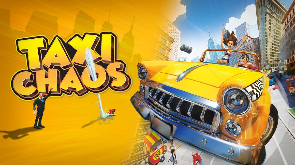Estos gameplays nos muestran como luce Taxi Chaos en Nintendo Switch