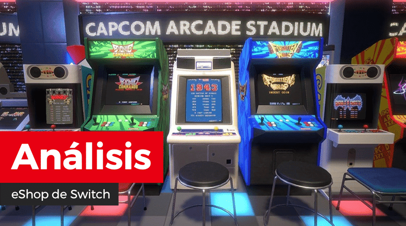 [Análisis] Capcom Arcade Stadium para Nintendo Switch