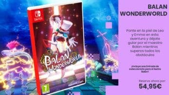 Reserva butaca para la divertida aventura de Balan Wonderworld para Nintendo Switch