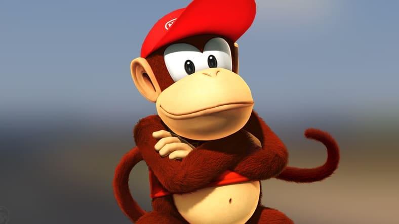 ¿Sabías que Diddy Kong sí parece estar presente en Mario Kart 64?