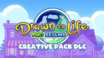 Drawn to Life: Two Realms celebra el lanzamiento de la versión 1.1 con el Creative Pack: detalles y tráiler