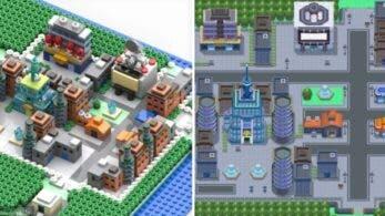 Fan de Pokémon comienza a recrear Sinnoh con LEGO