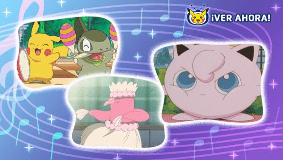 Nos invitan a ver estas aventuras musicales del anime en TV Pokémon