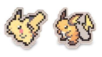Pokémon Center lanza nuevos pines de Pokémon clásicos