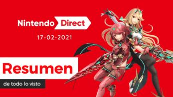 Resumen completo de todo lo mostrado en el Nintendo Direct de hoy