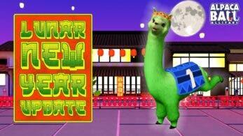 Alpaca Ball: Allstars celebra el Año Nuevo Lunar con esta actualización gratuita