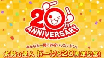 El 20º aniversario de Taiko no Tatsujin se retransmitirá en directo el 20 de febrero