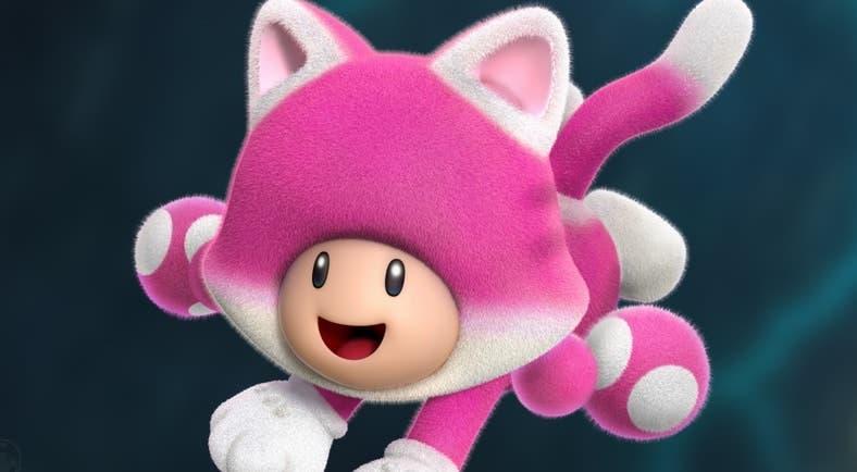 Archivo oculto apunta a que Toadette se planeó como personaje jugable en Super Mario 3D World + Bowser's Fury