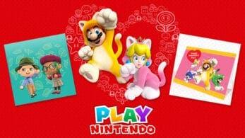 Celebra el Día de San Valentín con estos contenidos temáticos de Play Nintendo