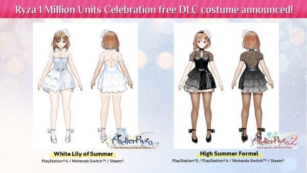 Estos trajes del millón de copias vendidas de los juegos de Atelier Ryza se lanzarán el 31 de mayo de forma gratuita