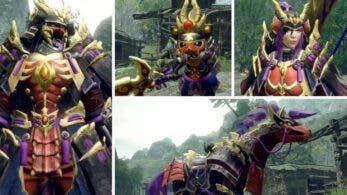 Capcom comparte un clip de vídeo del equipo que podemos crearnos con Magnamalo en Monster Hunter Rise