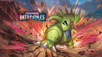 Se comparten imágenes de nuevas cartas y fondos promocionales en inglés de la colección S5 Estilos de Combate del JCC Pokémon