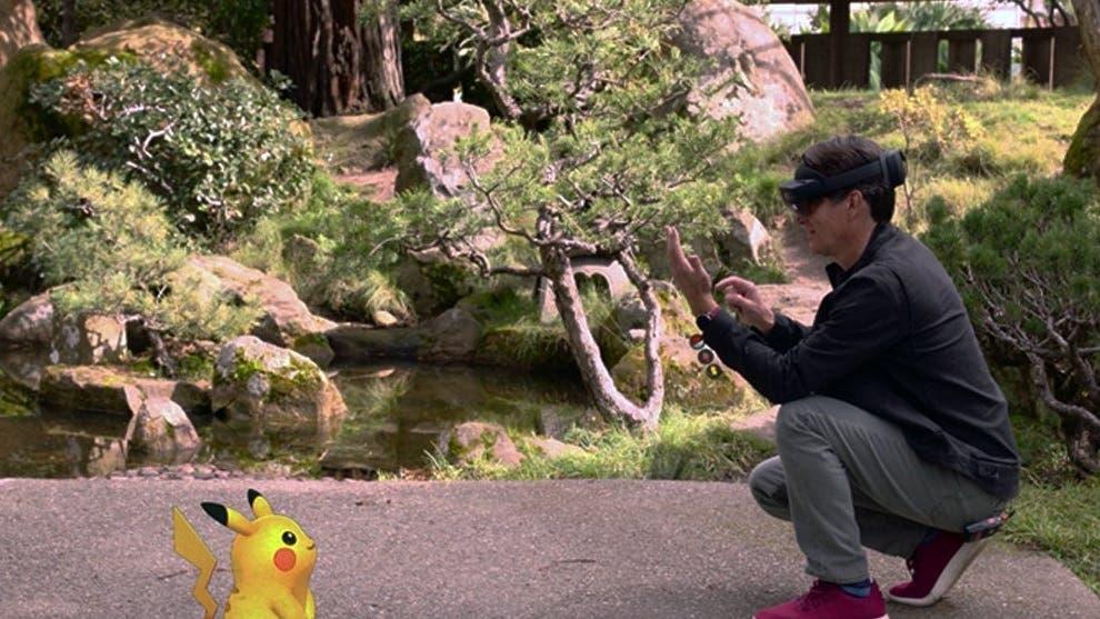 Microsoft y Niantic muestran una versión de Pokémon GO para HoloLens