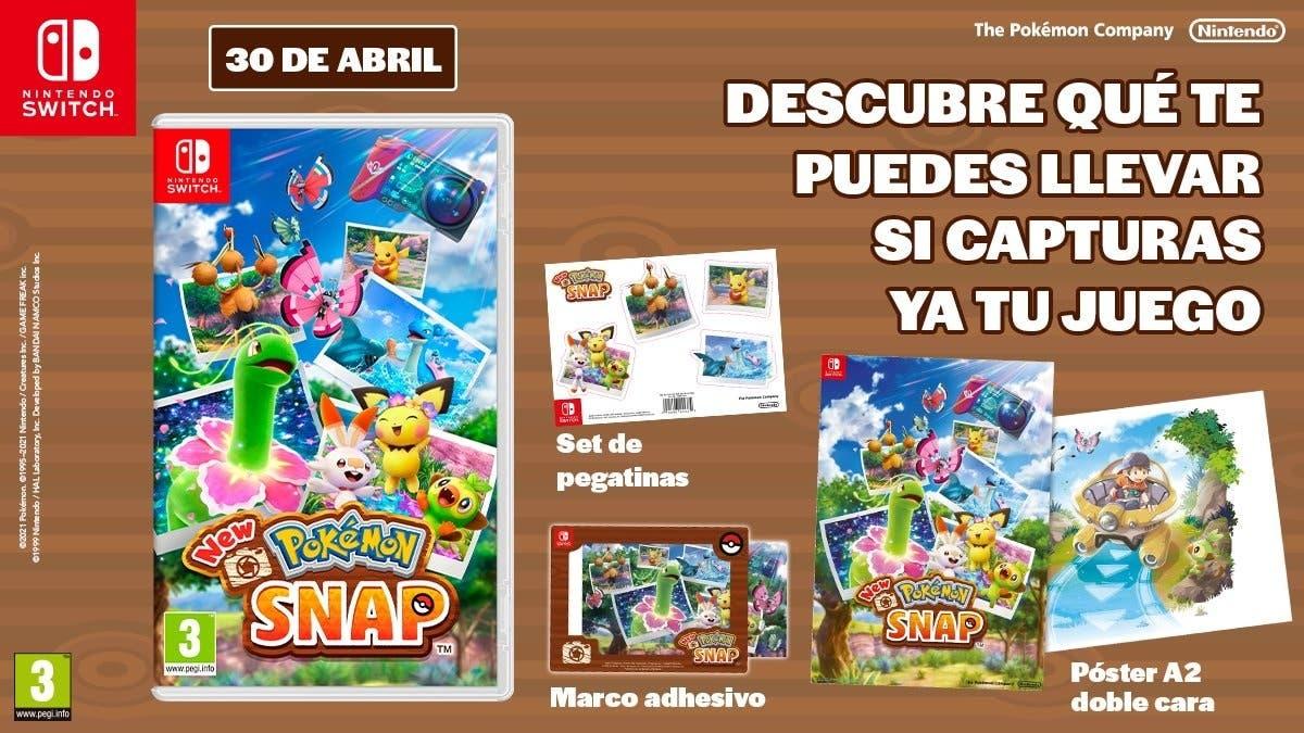 Estos son los regalos por reservar New Pokémon Snap en tiendas españolas