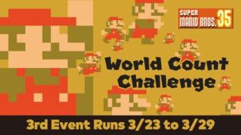 Super Mario Bros. 35 confirma su último desafío con Puntos de My Nintendo como recompensa