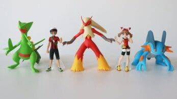 Se comparten nuevas imágenes de las figuras de Hoenn de la colección Pokémon Scale World