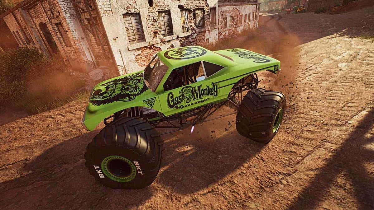 Comprueba cómo luce en Nintendo Switch Monster Jam: Steel Titans 2 con este gameplay