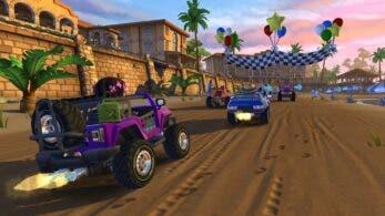 Beach Buggy Racing 2: Island Adventure: Mira cómo luce en Nintendo Switch con este gameplay