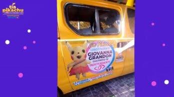 Giovanna Grandón Caro, candidata a las elecciones constituyentes de Chile, recorrerá las calles con este «Pikachumóvil»