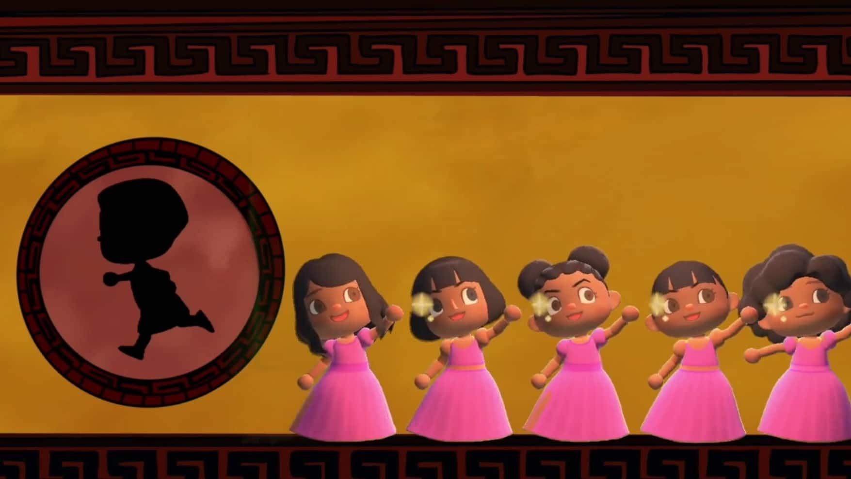 No te pierdas esta recreación de la canción 'Zero to Hero', de la película de Hércules, en Animal Crossing: New Horizons