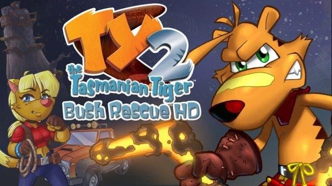 Ty the Tasmanian Tiger 2: Bush Rescue HD confirma fecha y precio para Nintendo Switch