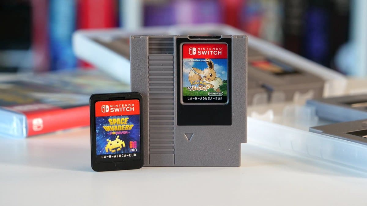 Evita perder cartuchos de Nintendo Switch con este set de estuches inspirados en NES