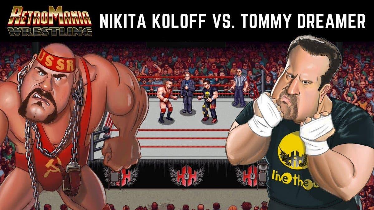 RetroMania Wrestling: Vídeo enfrenta a Nikita Koloff vs. Tommy Dreamer