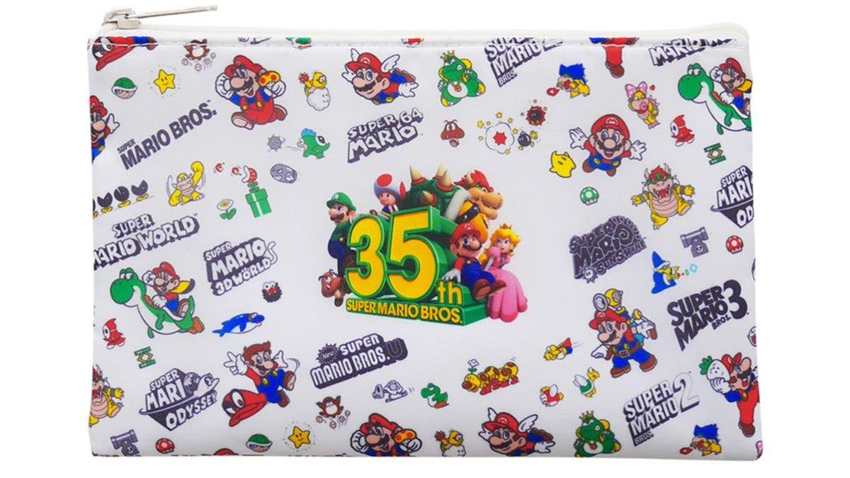 My Nintendo recibe esta bolsa con cremallera de Super Mario en el catálogo europeo