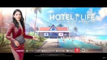 Anunciado Hotel Life – A Resort Simulator para Nintendo Switch: disponible el 26 de agosto