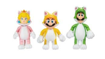 Jakks Pacific anuncia estas figuras de juguete de Super Mario 3D World