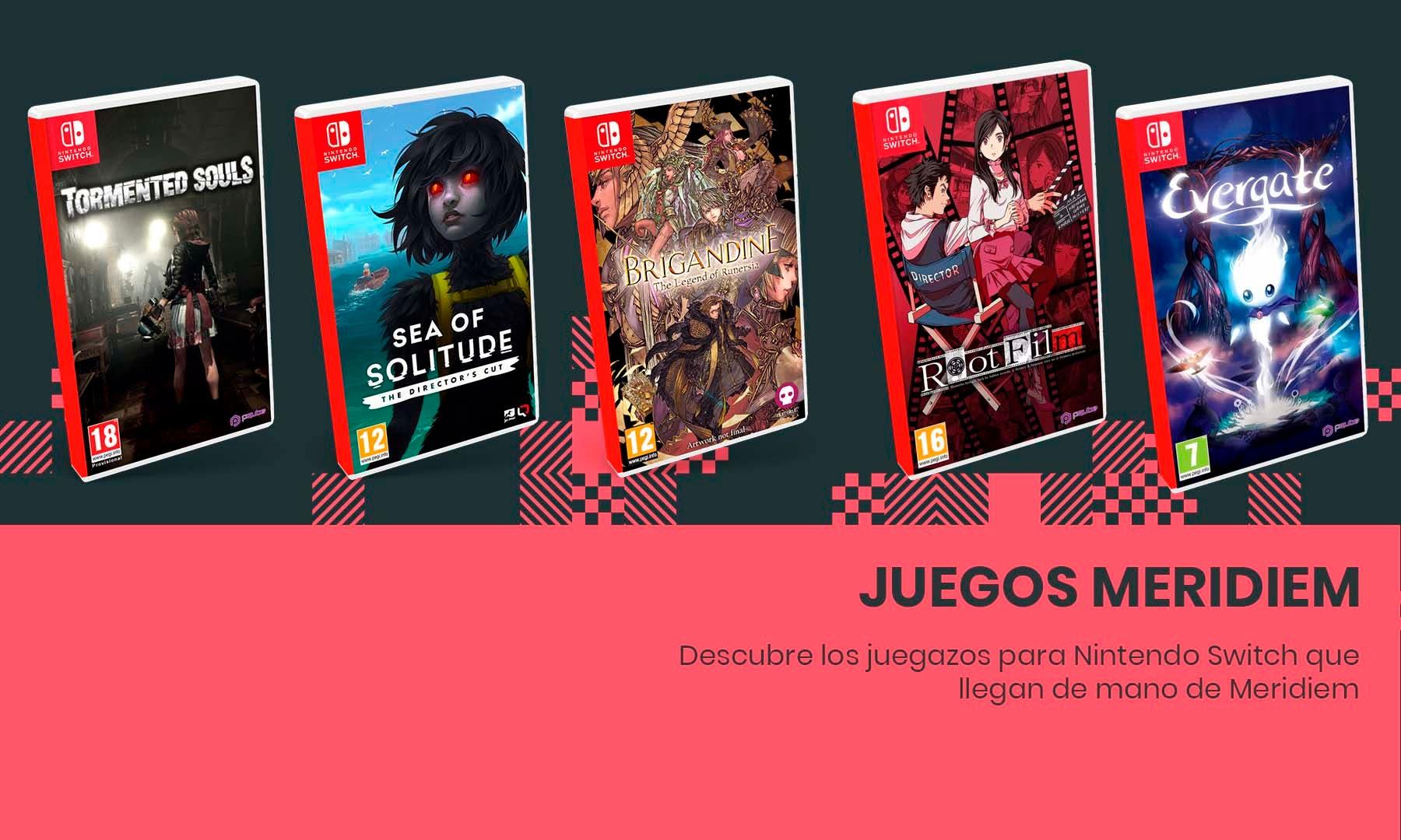 Descubre los juegazos para Nintendo Switch que llegan de mano de Meridiem: reservas disponibles